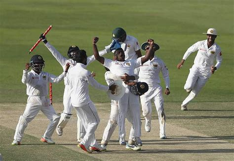 cricket score  pakistan  sri lanka st test
