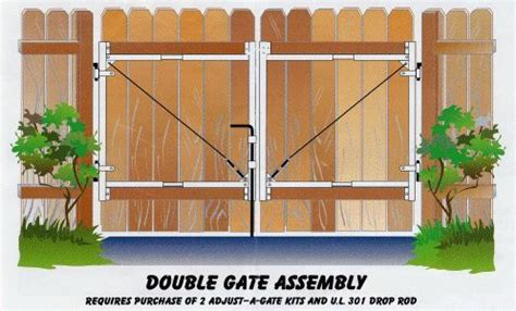 double swing wood fence gate double gate wood gates