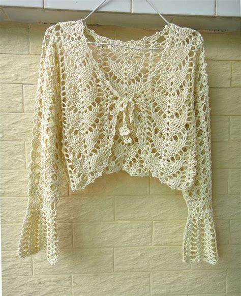 free form crop image online 696 best images about boleros crochet on pinterest vests