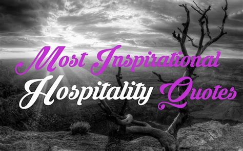 inspirational hospitality quotes global