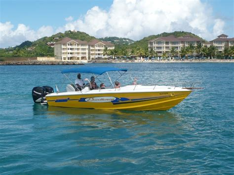 Speed Boats For Sale In St Lucia by Power Boats Tropical Discoveries St Luciatropical