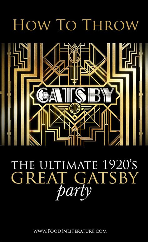 throw  ultimate  great gatsby party weve