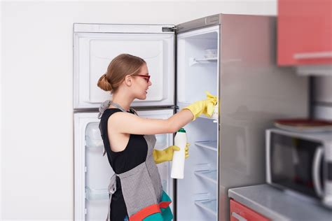 How to Clean Out a Refrigerator