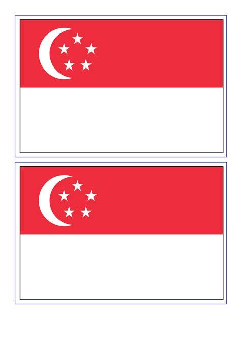 singapore flag templates  allbusinesstemplatescom