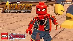 LEGO Avengers Infinity War Spider Man Iron Spider New