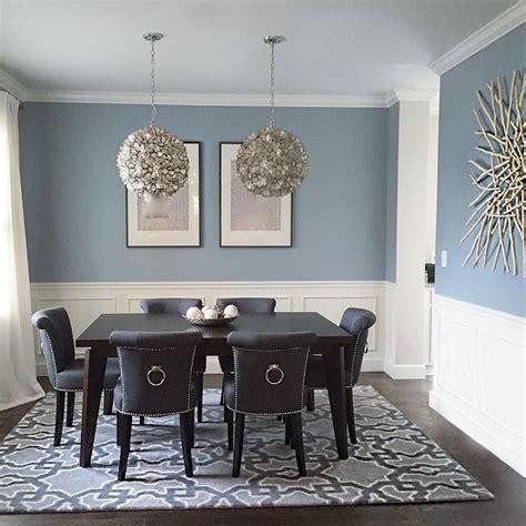 Living Room Dining Room Gray by Benjamin Nimbus Grey Dining Room Paint Dining