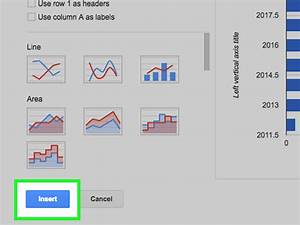 How To Create A Graph Using A Spreadsheet  With Pictures
