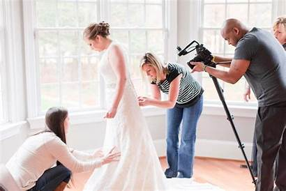 Behind Scenes Photographer Mom Bride Planners Ready