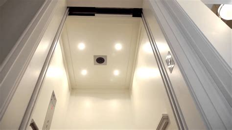 home elevator automatic slim doors savaria mobility products youtube