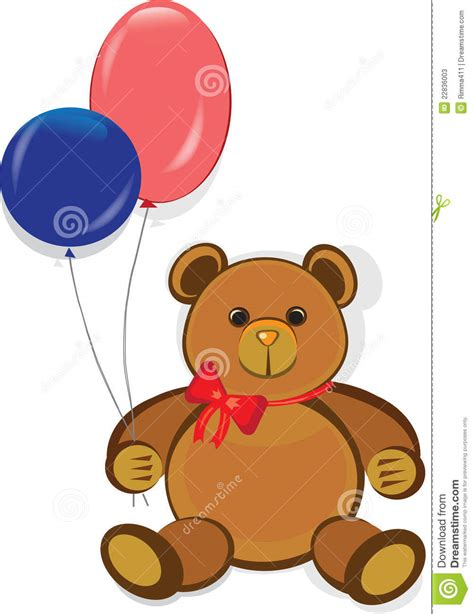 funny teddy bearhappy birthday card stock  image
