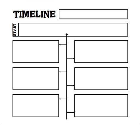 printable timeline template  kids homeschooling