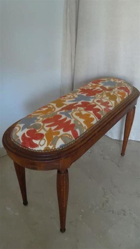 banc de lit ancien