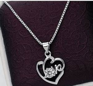 Cute Necklaces for Valentine's Day Gifts low as $2.84 shipped