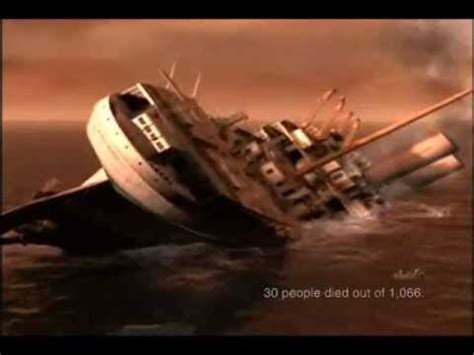 britannic sinking in 5 minutes h m h s videolike