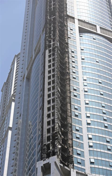 Fire put out at 86-story residential skyscraper in Dubai ...