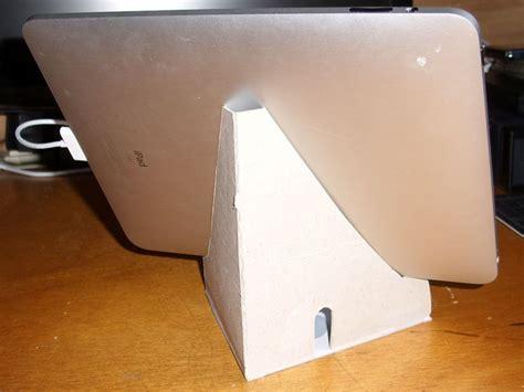 tablet stand   cardboard   crafty