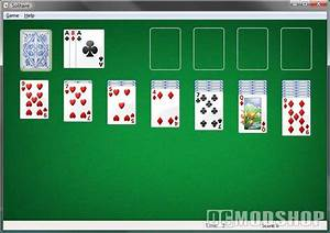 Regular Solitaire Card Game Only