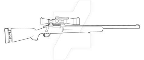 M24 Sws Lineart By Masterchieffox