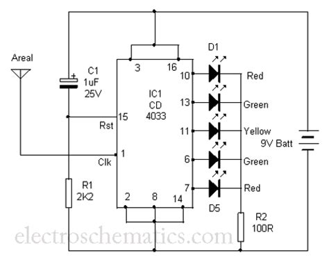 radiation sensor circuitcircuit diagram world