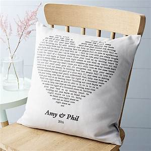 Personalised, Song, Cushion, By, Vintage, Designs, Reborn