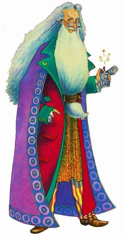 Dumbledore Illustration Albus Taylor Thomas Harry Potter