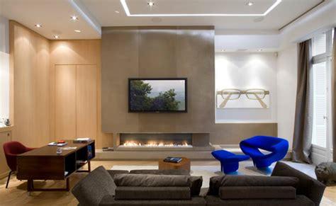 télé au dessus de la cheminée pour ou contre