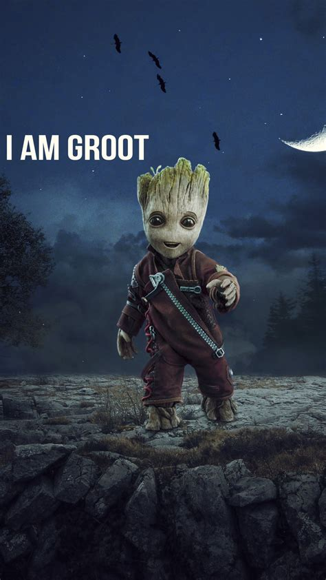 wallpaper groot marvel comics baby groot hd movies
