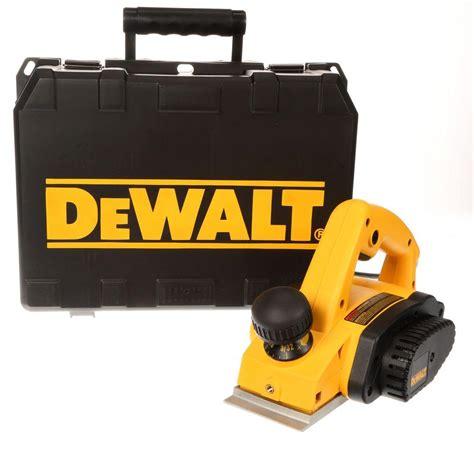 dewalt  amp    corded hand planer kit dwk