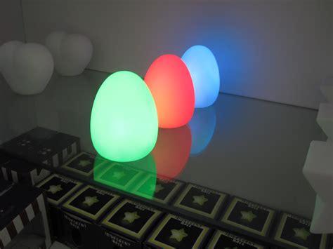 Colorful Luminous Egg-shaped Led Night Light, Home Bedside