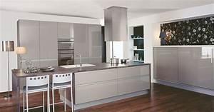 Cuisine star par cuisinella for Peinture couleur gris taupe 2 cuisine schmidt mikado brillant pas cher sur cuisine
