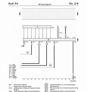 The Audi A4 U0026 39 S Steering Column Electronic Systems Control Module  Cruise Control Wiring Diagram