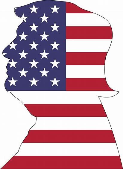 Trump American Stroke Clipart Svg Sign