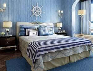Decoration Chambre Style Marin : ma chambre coucher au style marin ma deco maisons ~ Zukunftsfamilie.com Idées de Décoration