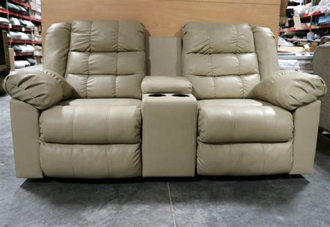 used leather loveseat rv furniture used leather rv loveseat with cup holders