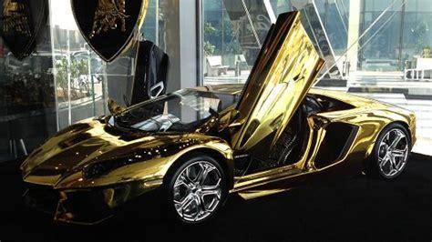silver and gold lamborghini gold lamborghini yours for 7 5 million
