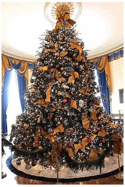 Christmas Tree Animated Trees Merry Gifs Animation