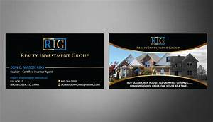 Real Estate Investor Business Cards | Unlimitedgamers.co