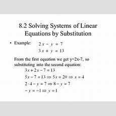 Examples Of Systems Of Linear Equations Tessshebaylo