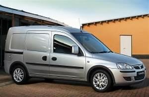 Vauxhall Adds Option Packs To Combo Van Range