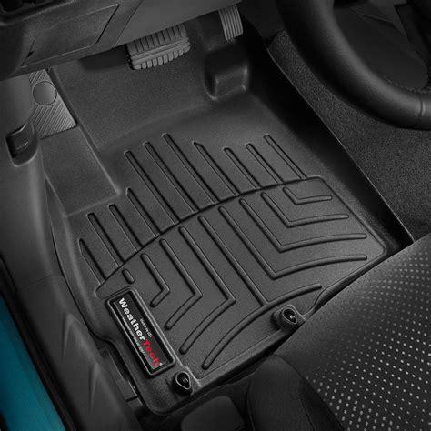weathertech floor mats cost weathertech 174 446511 digitalfit 1st row black molded floor liners