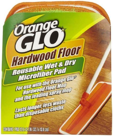 Orange Glo Wood Floor Cleaner Uk by Orange Glo Cleaner Pad