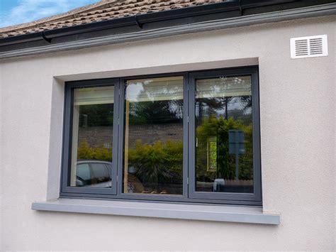 passive standard aluminium clad wood windows