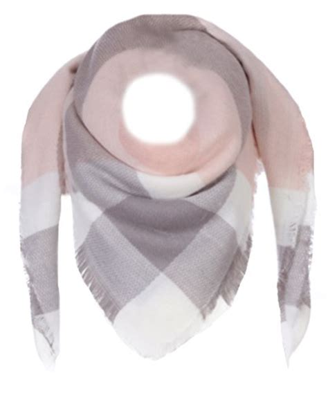 schal grau rosa schals fashion in grau f 252 r damen