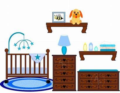 Clipart Crib Changing Boy Nursery Clip Area