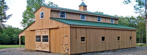 barns and buildings morton barns with living quarters studio design