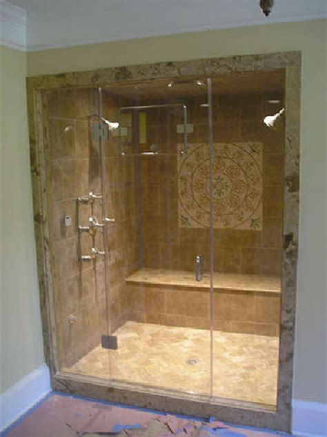 Steam Shower Enclosure by Inline Frameless Shower Enclosure Frameless Steam Shower Va