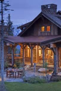 wrap around porch houses for sale log cabin porch cabins