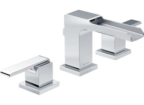delta 3568lf mpu ara two handle lavatory faucet with