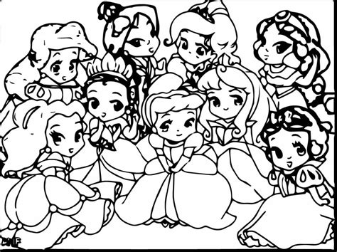 Baby Disney Coloring Pages Page Image Clipart Images