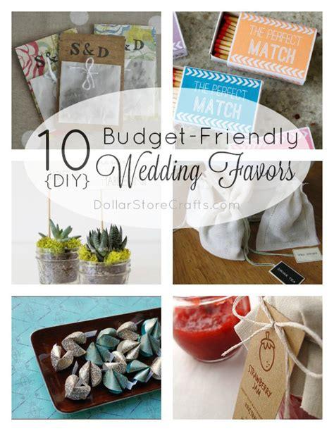 10 diy wedding favors on a budget 187 dollar store crafts